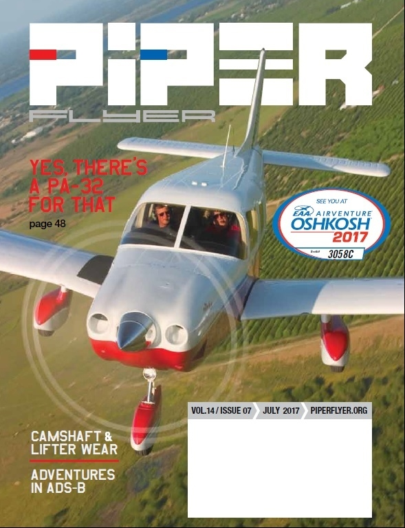 July 2017 Piper Flyer magazine