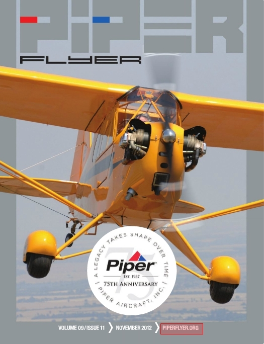 November 2012 Piper Flyer magazine