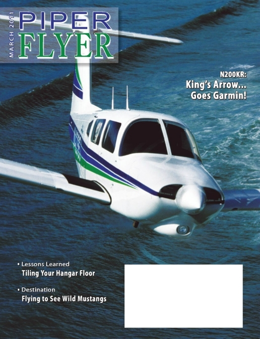 March 2011 Piper Flyer magazine