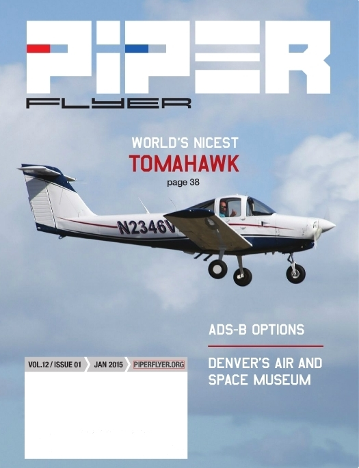 January 2015 Piper Flyer magazine