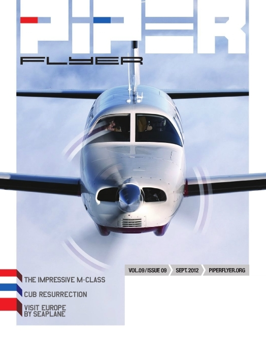 September 2012 Piper Flyer magazine