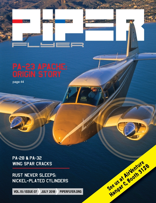 JULY 2018 PIPER FLYER MAGAZINE