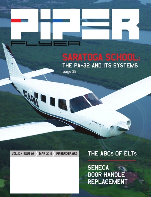 March 2015 Piper Flyer magazine