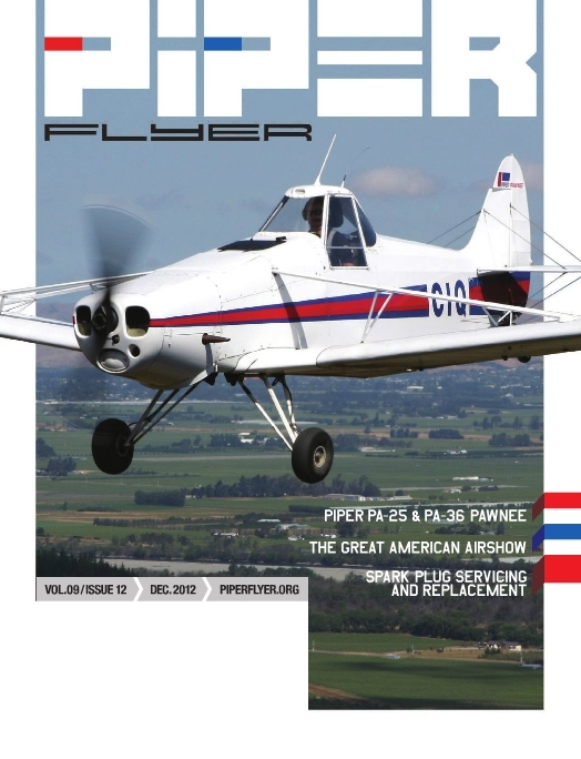 December 2012 Piper Flyer magazine