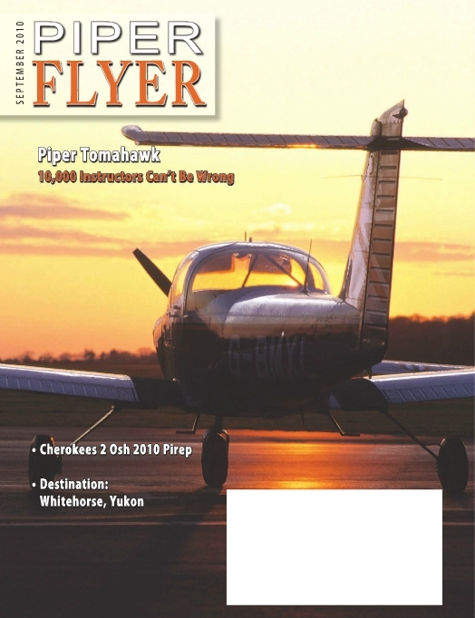 September 2010 Piper Flyer magazine