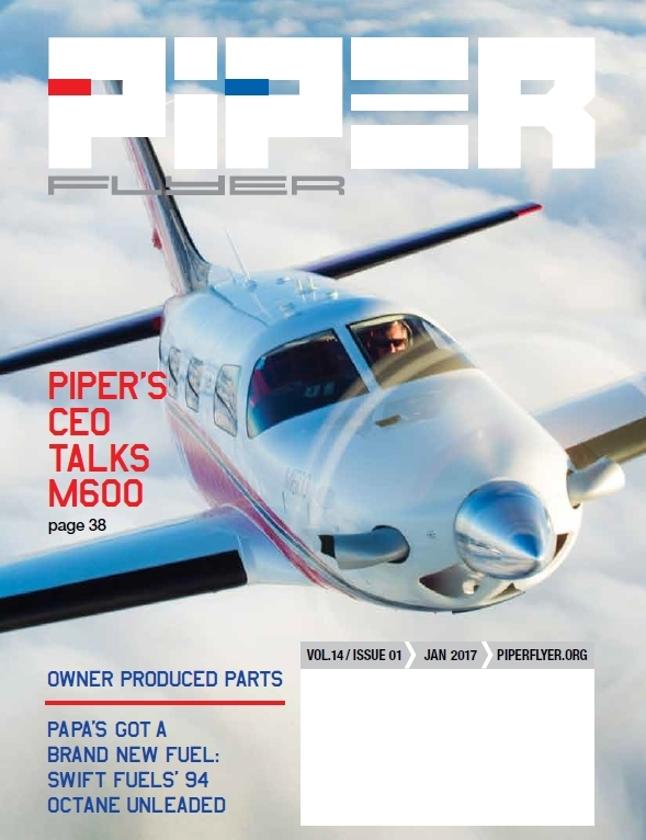 January 2017 Piper Flyer magazine