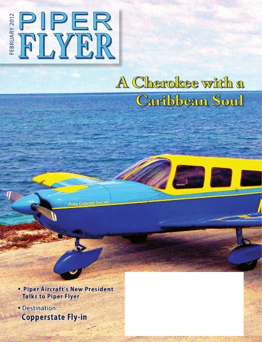February 2012 Piper Flyer magazine