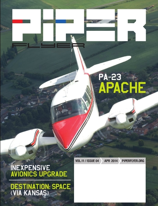 April 2014 Piper Flyer magazine