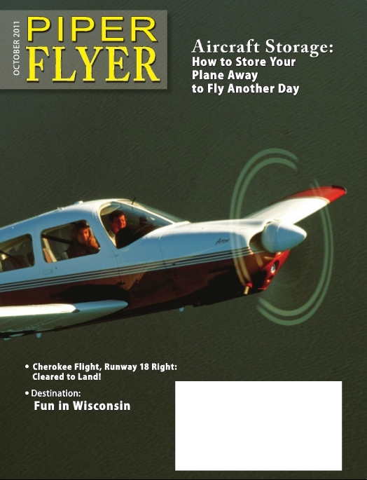 October 2011 Piper Flyer magazine