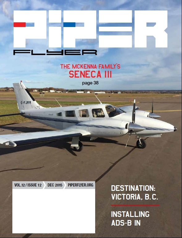 December 2015 Piper Flyer magazine
