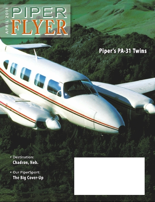 April 2011 Piper Flyer magazine