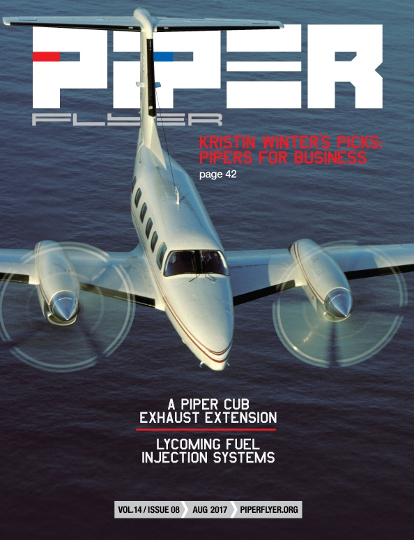 August 2017 Piper Flyer magazine