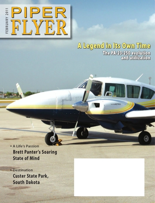 February 2011 Piper Flyer magazine