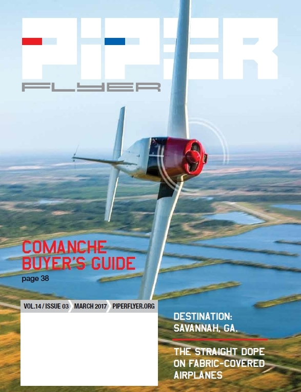 March 2017 Piper Flyer magazine