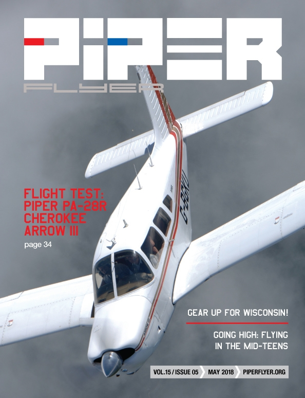 May 2018 Piper Flyer magazine