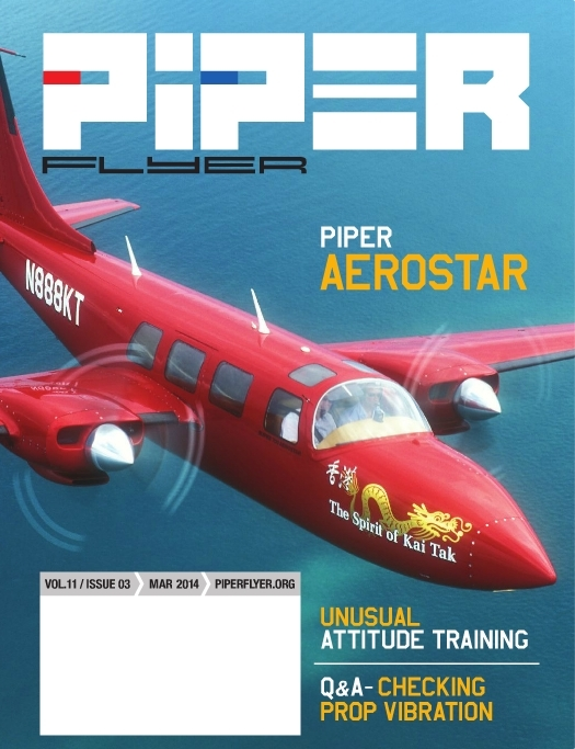 March 2014 Piper Flyer magazine