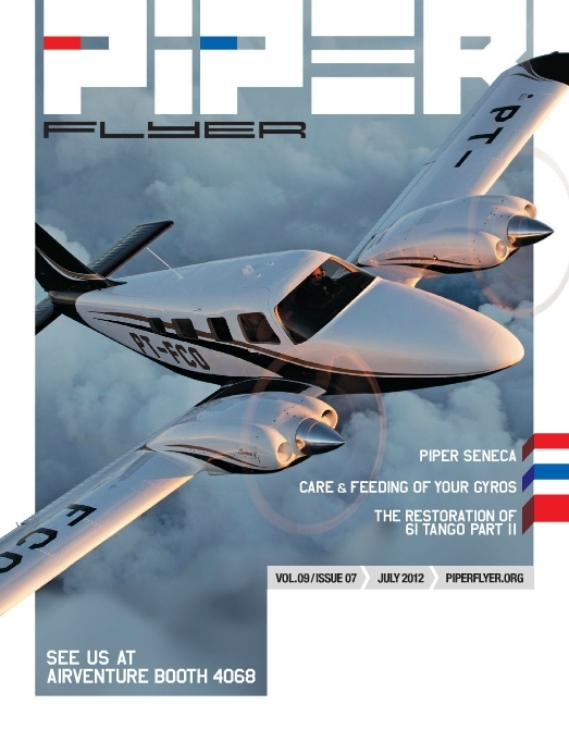 July 2012 Piper Flyer magazine