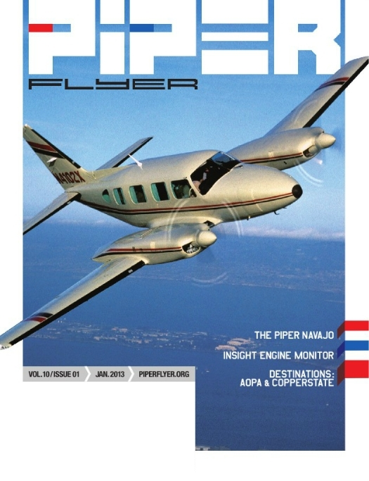 January 2013 Piper Flyer magazine
