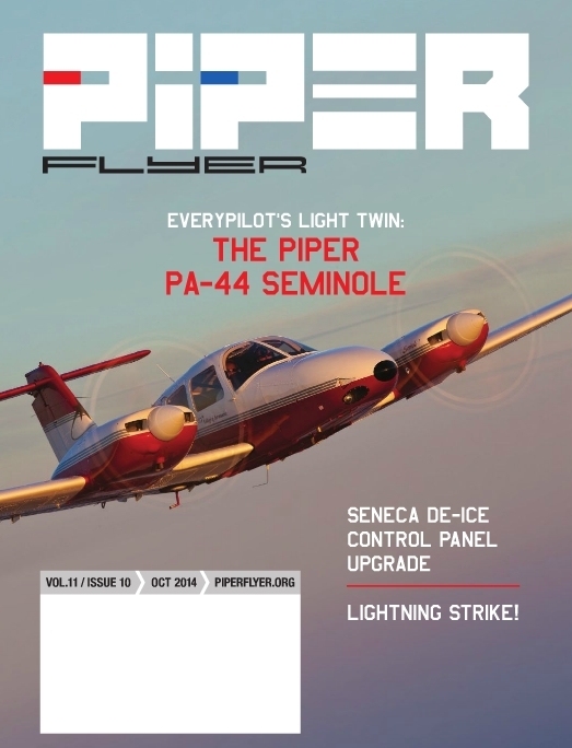 October 2014 Piper Flyer magazine