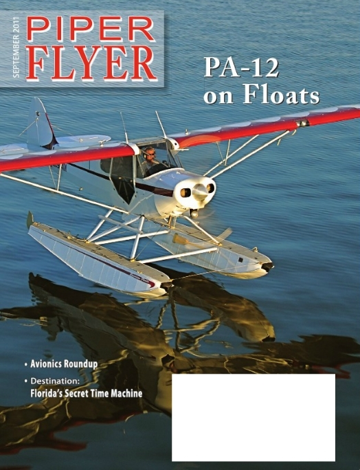 September 2011 Piper Flyer magazine