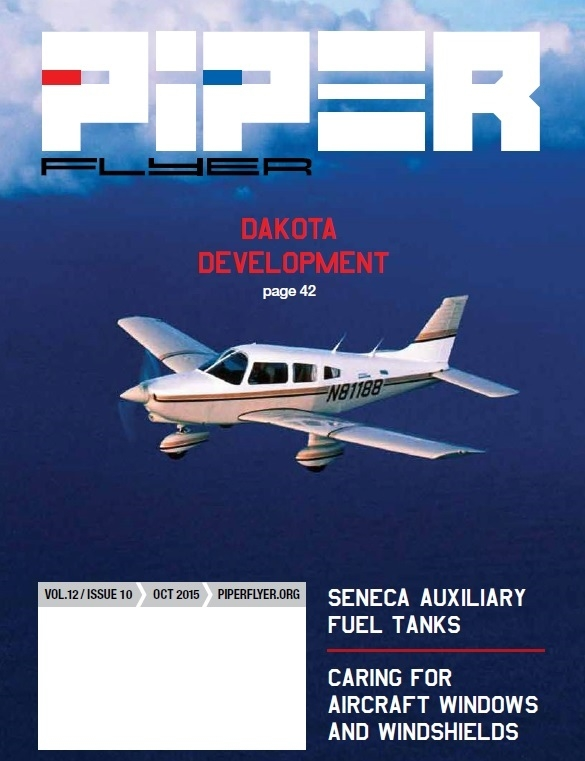 October 2015 Piper Flyer magazine