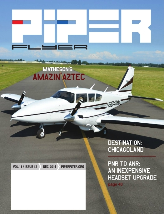 December 2014 Piper Flyer magazine