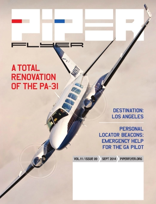 September 2014 Piper Flyer magazine