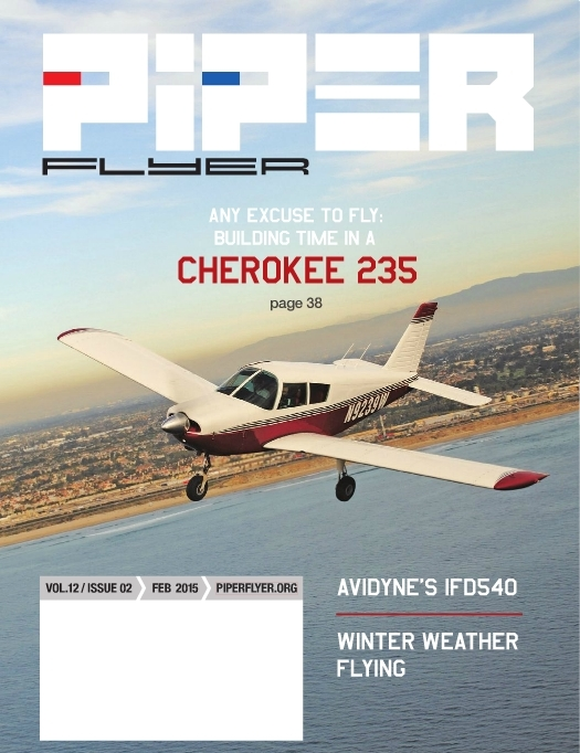 February 2015 Piper Flyer magazine