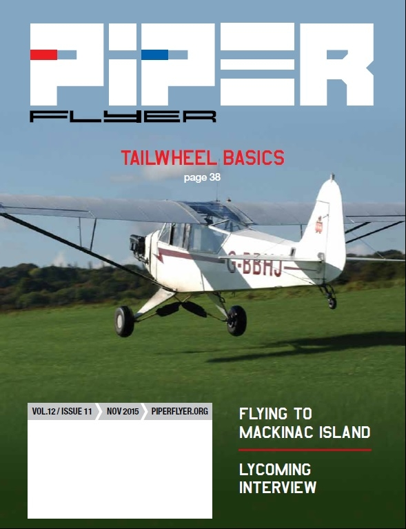 November 2015 Piper Flyer magazine