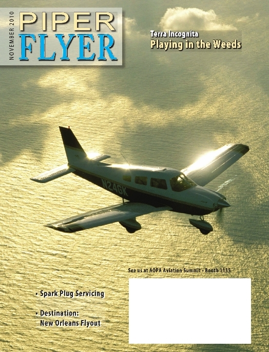 November 2010 Piper Flyer magazine