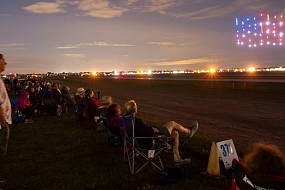 AOPA Lines Up Drones for Celebration– 2019 Fly-ins Feature Aerial Light Shows