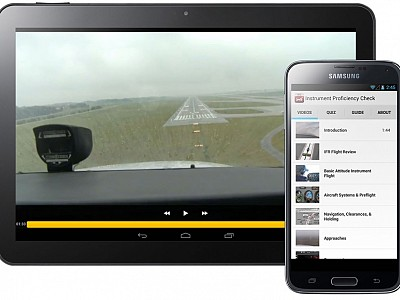 Be Your Own Best Flight Instructor with Sporty's IPC and Flight Review Apps