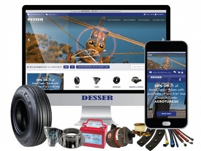 Desser Aerospace Launches eCommerce Website to better serve aircraft operators.