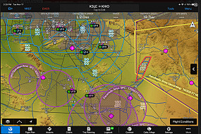 GARMIN PILOT ADDS GRAPHICAL AIRSPACE AND OBSTACLE NOTAMS FOR PRE-FLIGHT PLANNING AND ENHANCED INFLIGHT AWARENESS