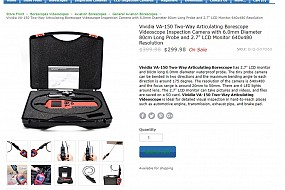 Vividia VA-150 Two-Way Articulating Borescope Now Available