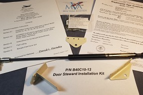 Mtn View Aviation granted FAA STC approval for the Piper PA32 and PA34 Rear Passenger doors.
